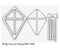 MFT-1495 My Favorite Things Kite Shaker Window & Frame Die-Namics
