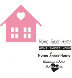 COL1333 Collectable Home sweet home