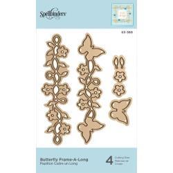 S3389 Spellbinders Shapeabilities Die D-Lites Butterfly Frame-A-Long
