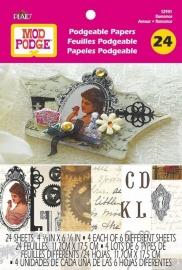 PE12941 Mod Podge Flip Book - Romance