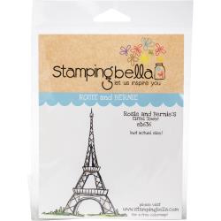 447204 Stamping Bella Cling Stamps Rosie And Bernie's Eiffel Tower