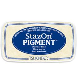 SZ-PIG-61 Tsukineko StazOn Pigment Mariner Blue