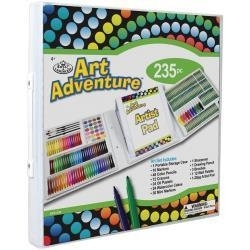 512506 Art Adventure Art Set 235 Pieces