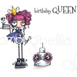265808 Stamping Bella Cling Stamps Oddball Queen