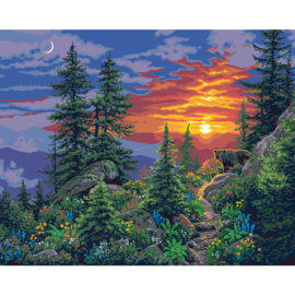 """558011 Paint By Number Kit Sunset Dreams 16""""X20"""""""