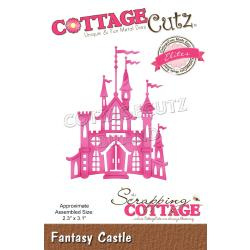 "CCE545 CottageCutz Elites Die Fantasy Castle 2.3""X3.1"""