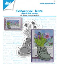 6002/1501 Joy!Crafts Cutting & embossing Lente schoen