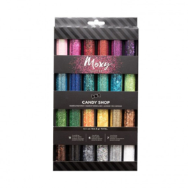 346688 American Crafts moxy glitter x24 tinsel