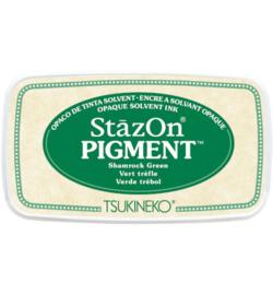SZ-PIG-51 Tsukineko StazOn Pigment Shamrock Green