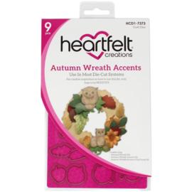 HCD17373 Heartfelt Creations Cut & Emboss Dies Autumn Wreath Accents