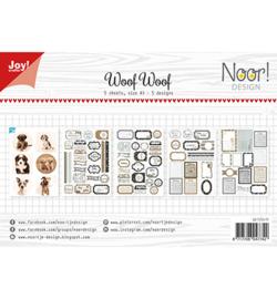 6011/0417 Noor knipvel WoofWoof