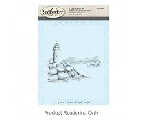 DSC-044 Spellbinders Lighthouse 3D Shading Stamp