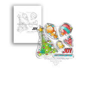 PD7992 Polkadoodles Deck the Halls Clear Stamps