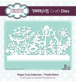 CEDPC1038 The Paper Cuts Collection Thistle Patch