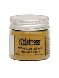 TDE70986 Tim Holtz Distress Embossing  Fossilized Amber Glaze