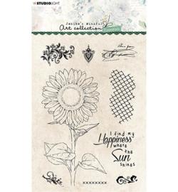 JMA-ES-STAMP66 StudioLight  JMA Clear Stamp Sunflower Essentials nr.66