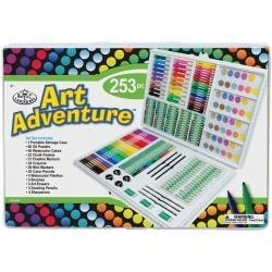 512504 Art Adventure Art Set 253 Pieces