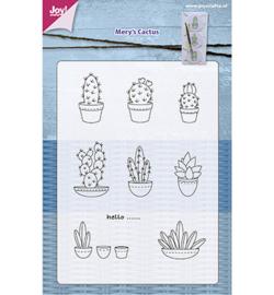6410/0403 Stempel Mery's Cactussen