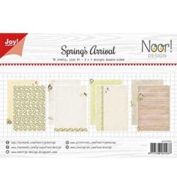 6011/0656 Noor Papier Set A4 Design Spring's Arrival