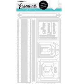 SL-ES-CD101 StudioLight Cutting Die Slimline journal Essentials nr.101
