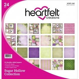 "HCDP1 262 Heartfelt Double-Sided Paper Pad Sugar Hollow 12""X12"""