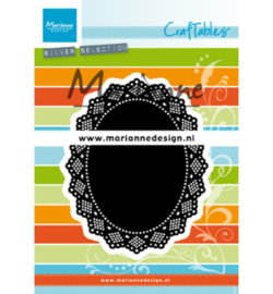CR1500 Marianne Design Craftables Shaker oval