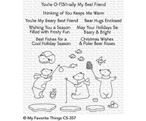 CS-357 My Favorite Things Beary Best Friends Clear Stamps