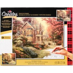 "464742 Thomas Kinkade Paint By Number Kits Selfless Service - Thomas Kinkade 16""X20"""