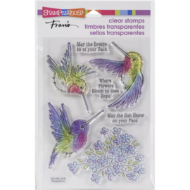 645719 Stampendous Perfectly Clear Stamps Hummingbird Hope