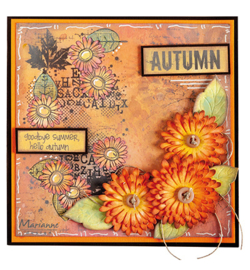 MM1633 Marianne Design Art stamps Chrysant