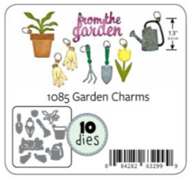 KBR1085 Karen Burniston Dies Garden Charms