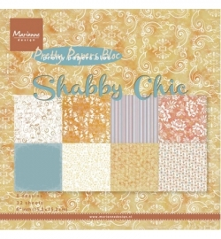 PK9121 Pretty Papers -  Shabby chic