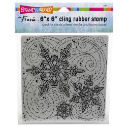 252144 Stampendous Cling Stamps Winter Blizzard