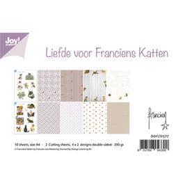 6011/0577 Papierset  A4 Liefde voor Franciens Katten