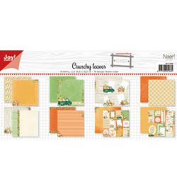 6011/0660 Scrap Papierset Noor Design Crunchy leaves