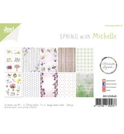 6011/0646 Papierset Design Lente met Michelle