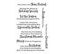 CS-422 My Favorite Things Sassy Pants Holidays Too Clear Stamps