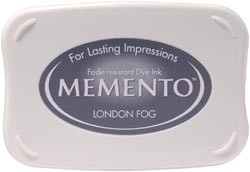 407316 Memento Full Size Dye Inkpad London Fog