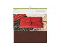 2004016 Cricut Dark Brown 12x12 Inch Genuine Leather