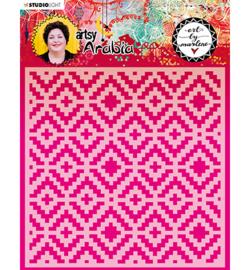 MASKBM14 Art By Marlene Mask Artsy Arabia, nr.14