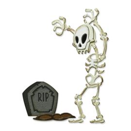 665554 Sizzix Thinlits Dies Mr. Bones Colorize By Tim Holtz 9/Pkg