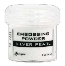 EPJ37514 Ranger Embossing Powder Silver Pearl