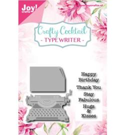 6004/0011 Joy craft!/Noor! Design Stamp + Stencil Stamp + Stencil