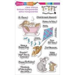 426521 Stampendous Perfectly Clear Stamps Sheet Hoppy Moments