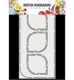 470.715.828 Dutch DooBaDoo Mask Art Slimline Bow