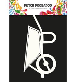 470.713.646 Dutch DooBaDoo Card Art wheelbarrow