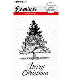 BL-ES-STAMP117 - BL Clear stamp Christmas Tree Essentials nr.117