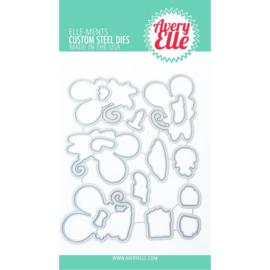 641831  Elle-Ments Dies Christmas Mice