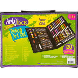 445060 Artyfacts Portable Studio Deluxe Art Set