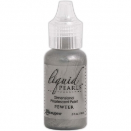 LPL 46813 Liquid Pearls Glue Pewter